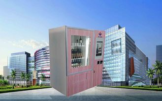 China CE FCC Winnsen Wine Vending Machine For Shopping Mall With Credit Card Reader Payment fabriek