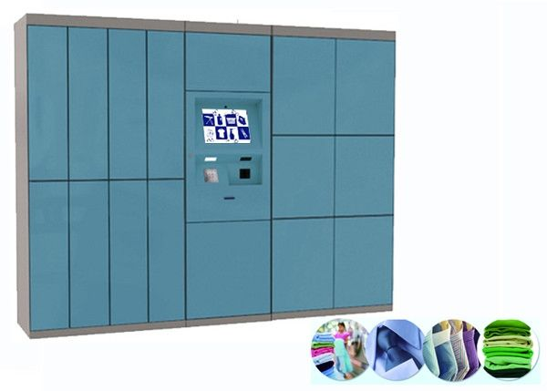 Advanced English Multi Language Dry Cleaning Locker Systems For Indoor / Outdoor