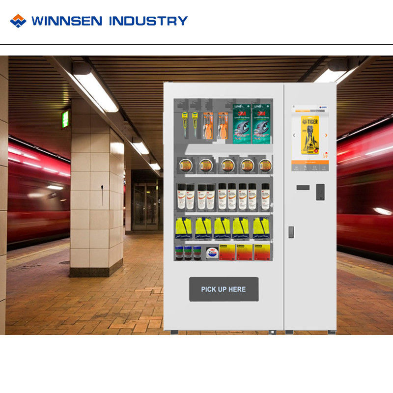 Box Mini Mart Vending Machine, oortelefoonautomaat met koelsysteem leverancier
